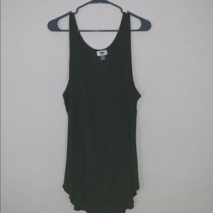 OLD NAVY Super comfortable tank military green